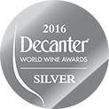 Decanter World Wine Awards 2016 Silver Award