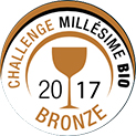 Millesime Bio 2017 Bronze Award